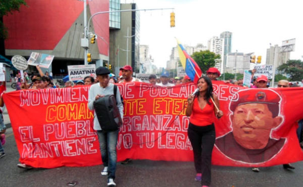 movimiento social en venezuela