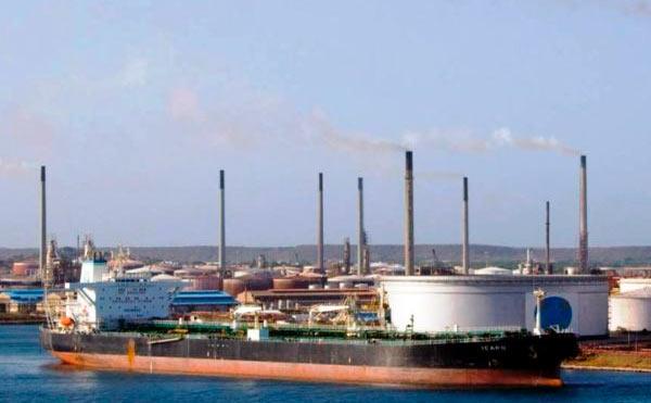 refinería de Curaçao
